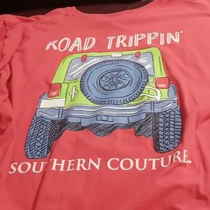 SOLD on M..........Southern couture tshirt